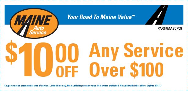 $10 Off any Service over $100  (MASCP09)