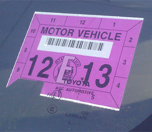 Main State Inspection Sticker