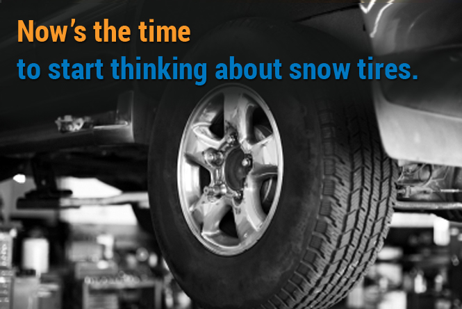 Get your snow tires on today