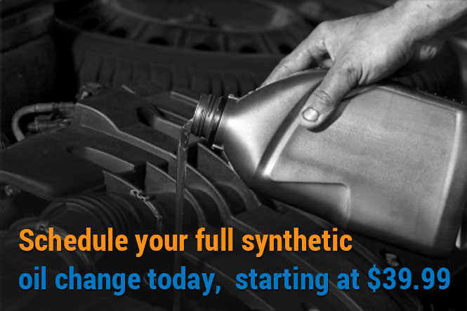 Schedule your oil change today